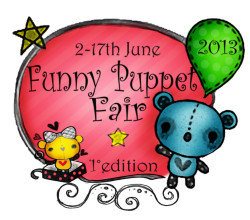 funny puppet fair LOgo